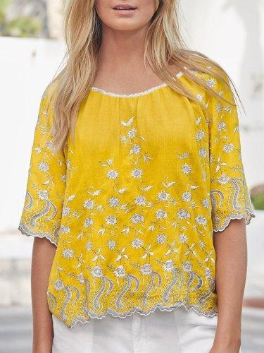 Half Sleeve Casual Shirts & Tops