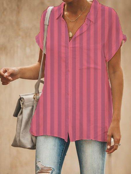 Casual Short Sleeve Shirts & Tops