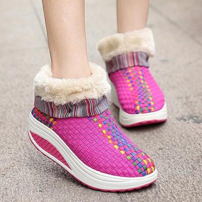 Women Plus Size Athletic Booties Casual Shoes