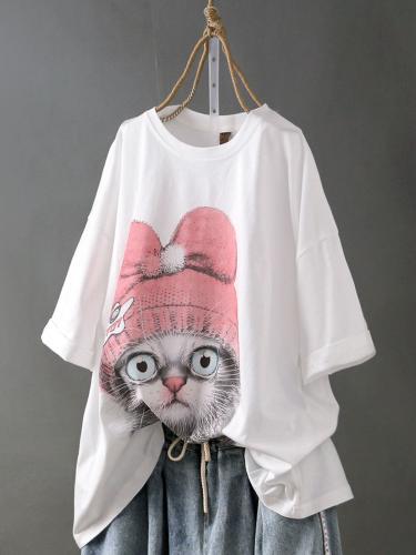 Cotton Half Sleeve Shirts & Tops