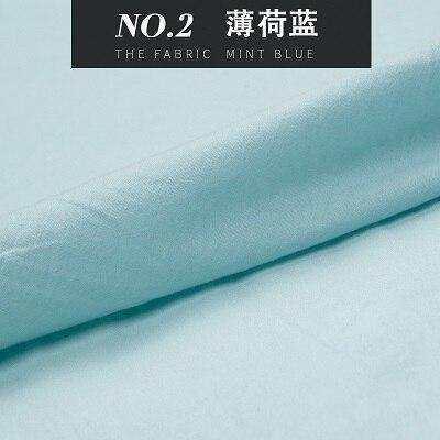 19 Colors: Washed pure cotton fabric, solid color, sewing for blouse, clothing, home Decor, Pillow, Quilt, craft by the yard