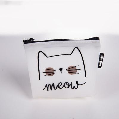 Silica gel Cute Cat Letter Wallets