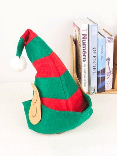 Christmas Elf Clown Hat