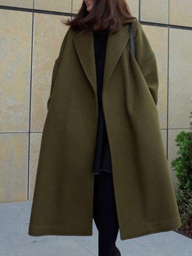 Turn-down Collar Long Sleeve Women's Clothing