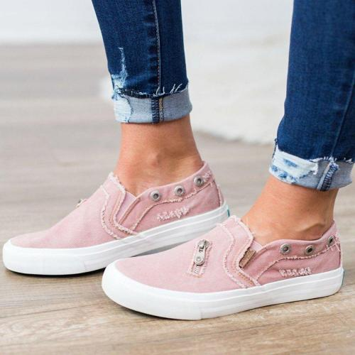 Women Mariachi Distressed canvas Sneaker Shoes