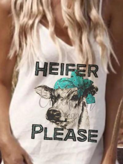 White Shift Printed Holiday Animal Dresses
