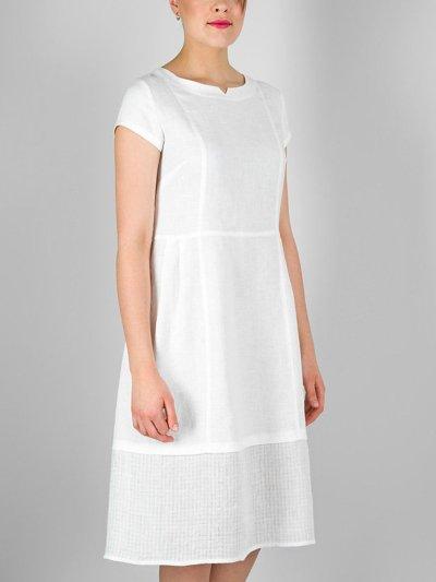 White Cotton One-Pieces