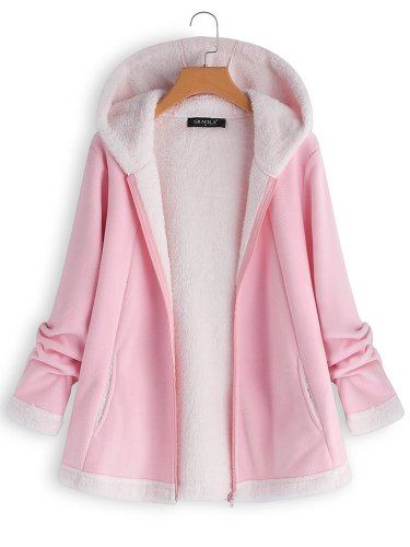 Casual Hooded Winter Coats For Women
