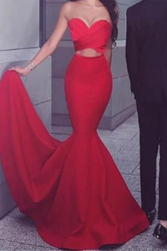 Sexy Sleeveless Off-Shoulder Pure Colour Maxi Dresses