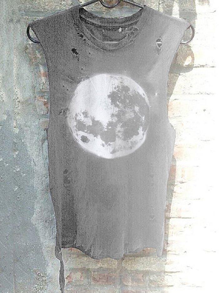 Full Moon Ripped Tees