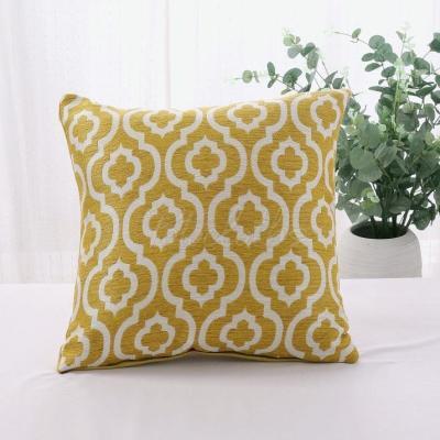 Multicolor Geometric Print Pillowcase
