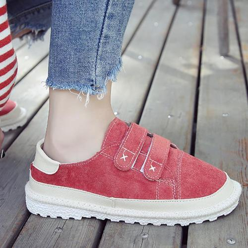 Women Flocking Sneakers Casual Shoes