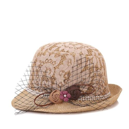 Ladies Summer Elegant Hat Sunscreen Outdoor Shade