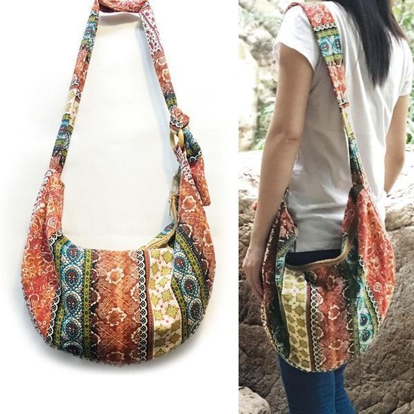 Handmade Hobo Woven Everyday Bag  Shoulder Handbags
