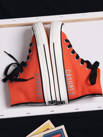 Casual And Comfortable High-Top Canvas Shoes