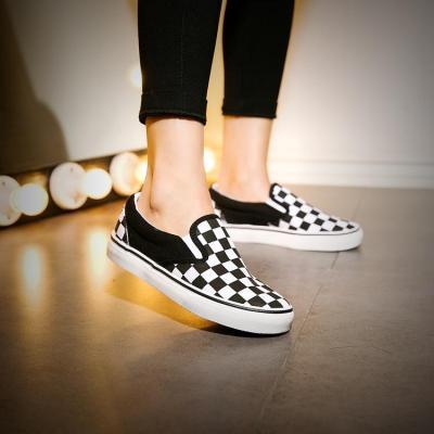 Casual Canvas Flat Heel All Season Loafers