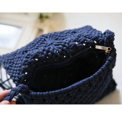 Sweet Shoulder Flower tassel Bags