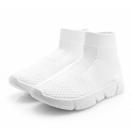 Mesh Fabric High-top Breathable Sneaker