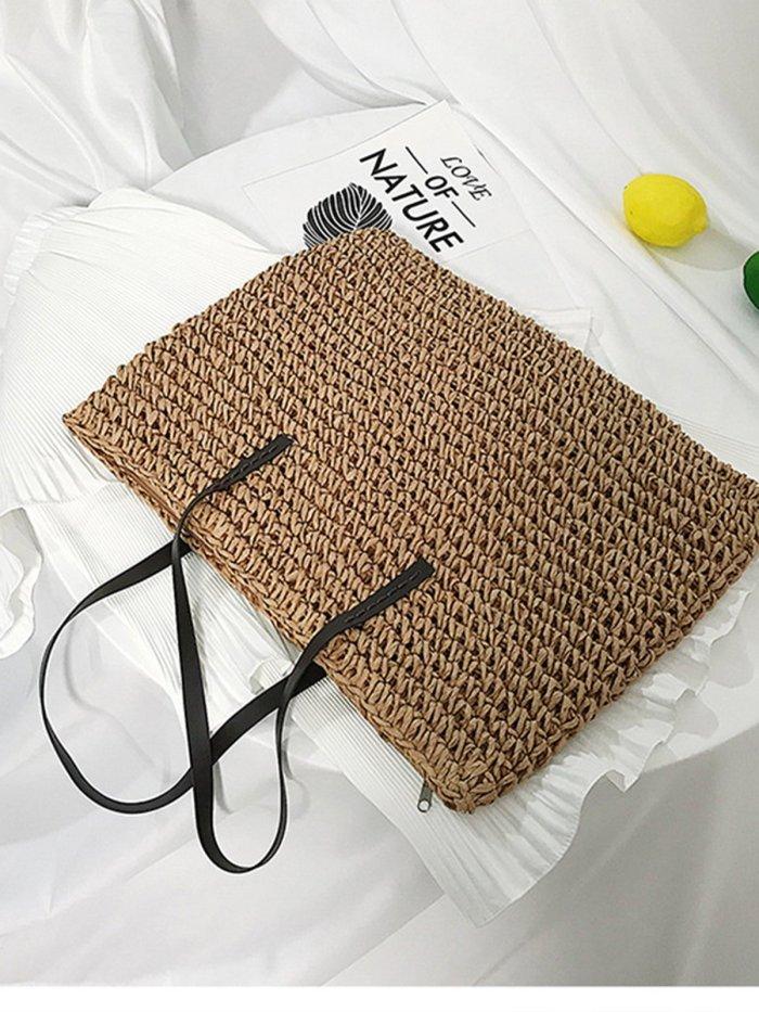 Straw Shoulder Bags