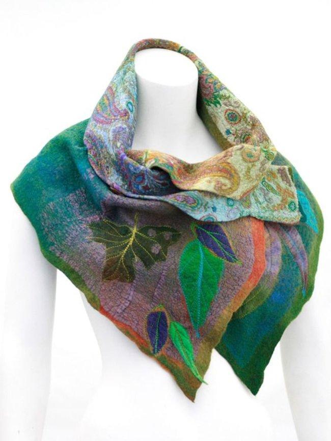 Floral Scarves & Shawls