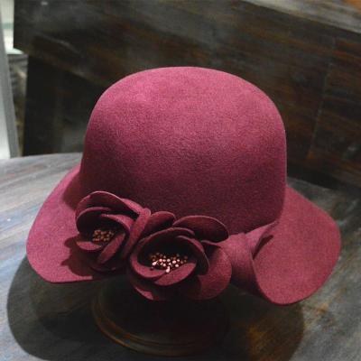 Women's Autumn Winter Woolen Hat