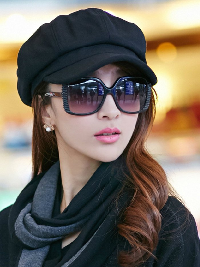 Solid Casual Fashion Beret