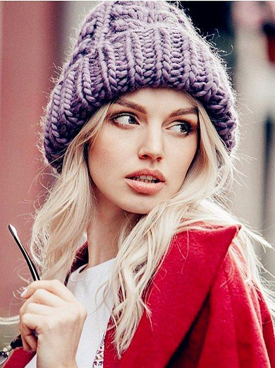 Casual Sexy Holiday Knitted Hat