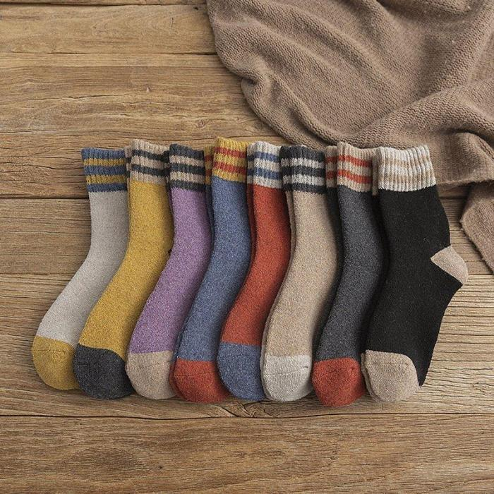 Comfortable Warm Soft Wool-Blend Thick Socks