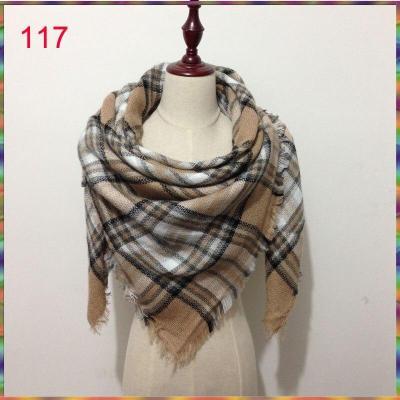 Wholesale 2020 Winter Scarf for Women Female Cashmere Scarves Brand Shawl Warm Plaid Blanket Luxury