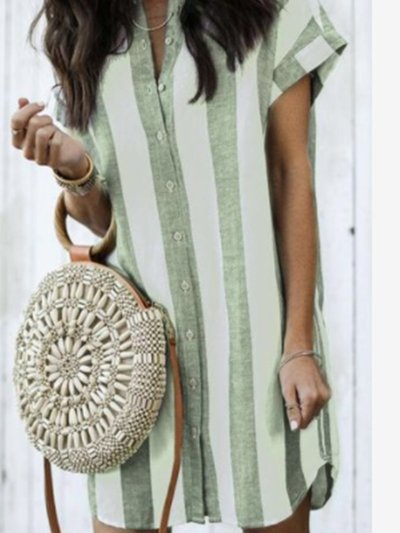 Cotton-Blend Sweet Dresses
