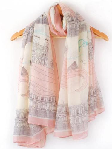 Cotton Silk Shawl Scarves