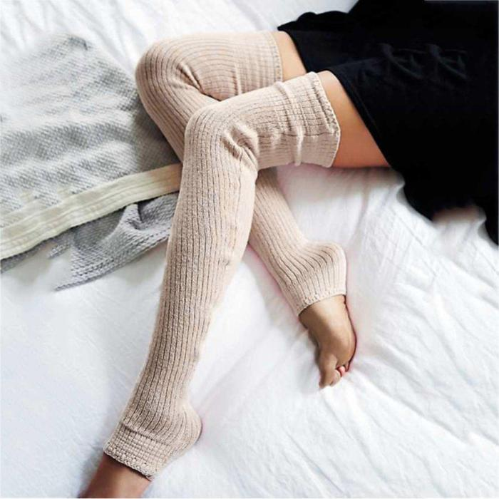 Knitted Breathable Casual Stripes Socks