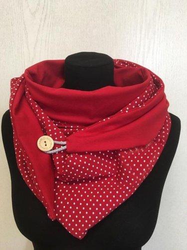 Polka Dots Vintage Scarves & Shawls