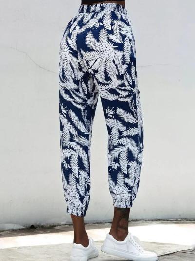 Printed Casual Leggings Pants