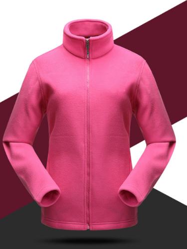 Outdoor Polar Fleece Breathable Windbreaker Shell Jacket