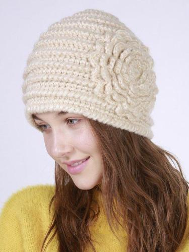 Sweet Vintage Casual Knitted Hat