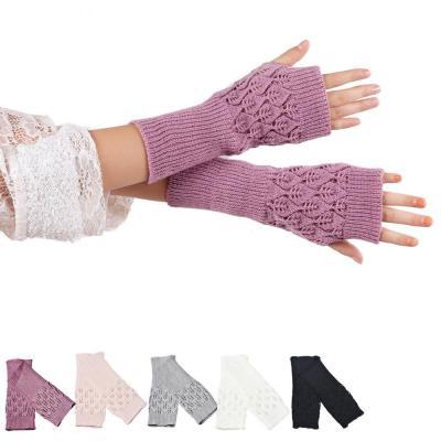 Hand Arm Knit Gloves Mittens