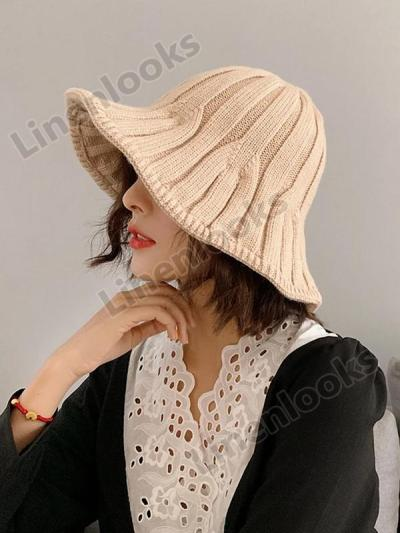 Women's Knitted Wool Fisherman Hat