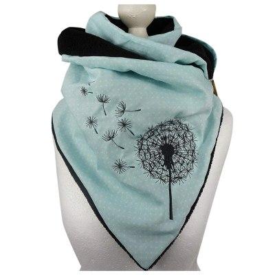 Women Printing Scarf Fashion Retro Female Multi-Purpose Shawl Scarf