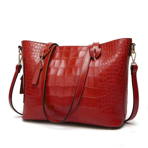 Bag - Fashion Crocodile Print Simple Bag