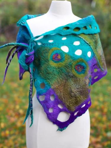 Casual Color-Block Cotton-Blend Scarves & Shawls