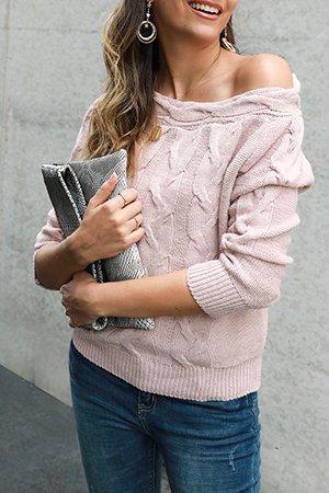 Holiday Off Shoulder Sweater