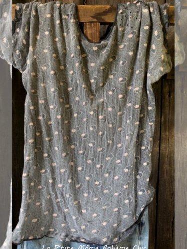 Women Casual Printed Tops Tunic T Shirt