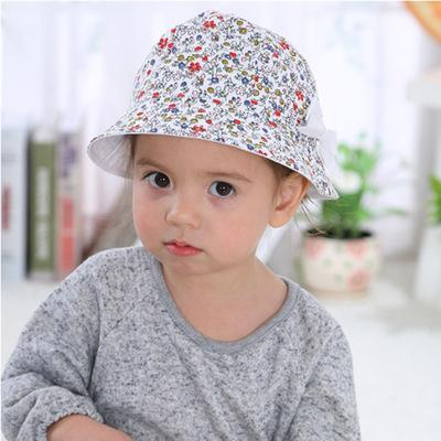 Fashion Baby Girl Spring and Autumn Cotton Hat