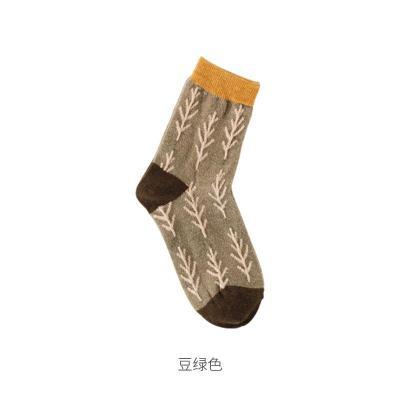 Spring Warm Stockings Christmas Wool Socks Winter Cotton Thickened