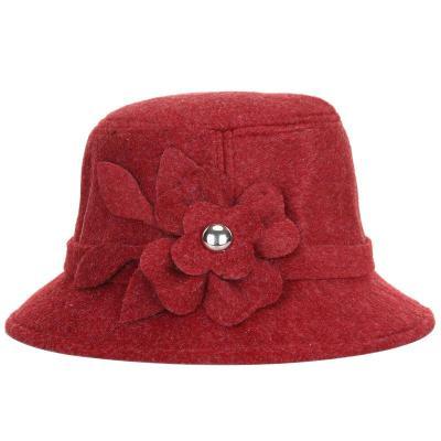 Women's Hats Fall/winter Dome Hats Solid Warm Woolen Hats