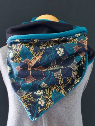Multicolor Casual Floral-Print Scarves & Shawls