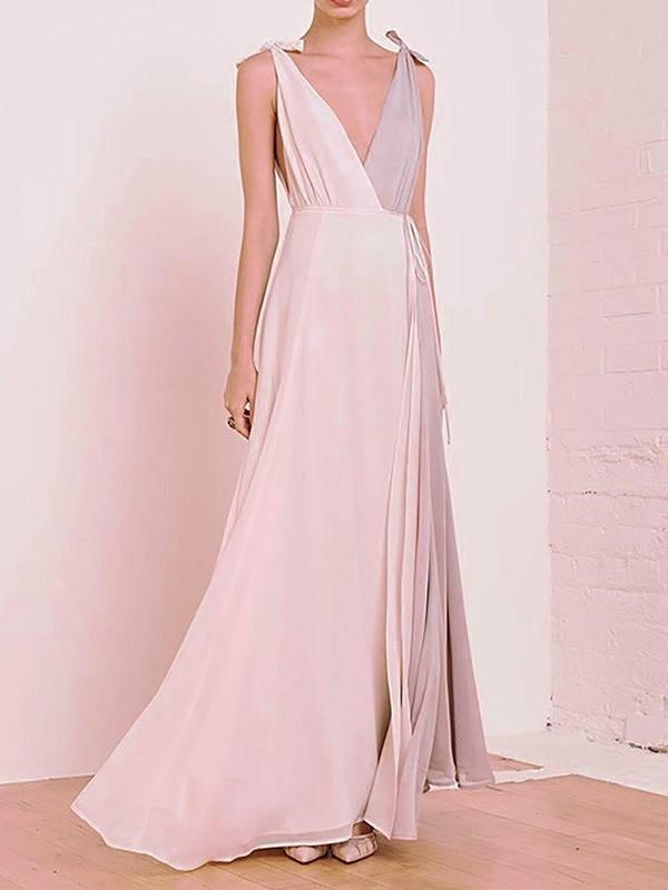 Women Sleeveless Paneled Casual Dress