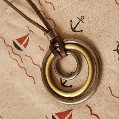 Simple The Size Of The Circle Necklaces