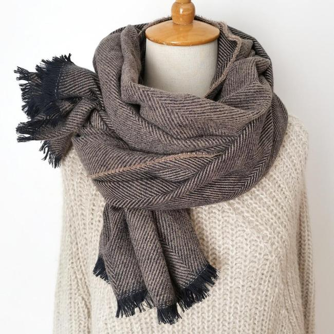 Warmer Winter Fashion Scarf Women Ladies Knitting Pashmina Scarf
